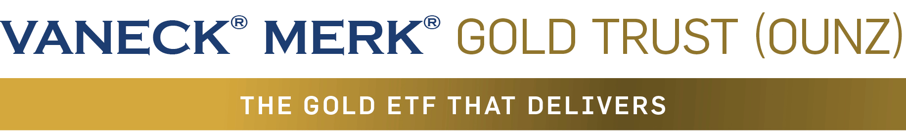 VanEck Merk Gold Trust (OUNZ) - Frequently Asked Questions